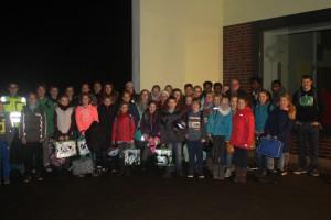 Gruppenfoto vor dem Jugendhaus ZaK
